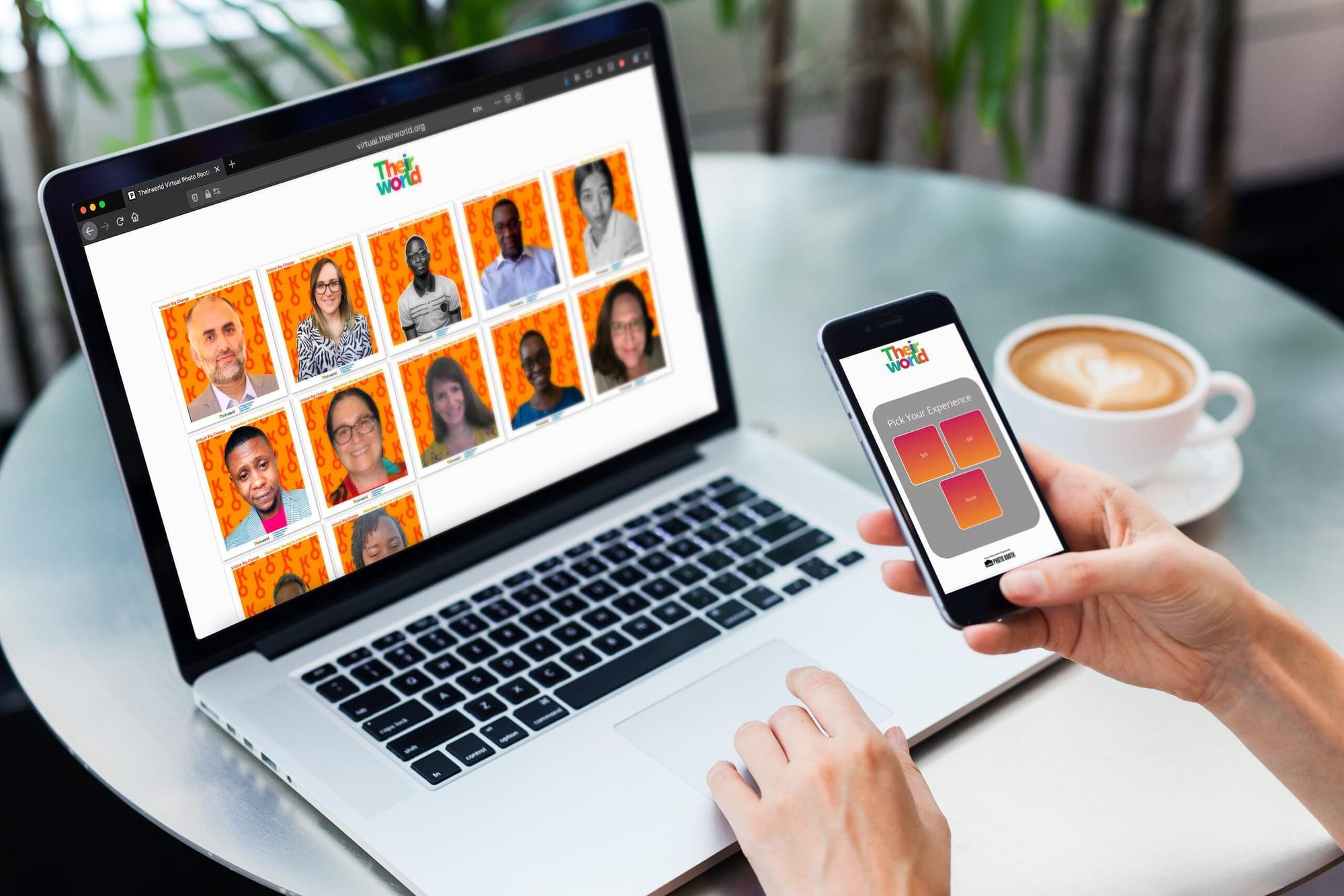 Virtual Photo Booth for Theirworld