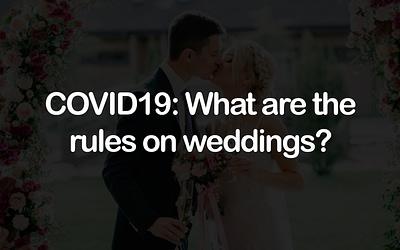 Coronavirus: What are the rules on weddings?